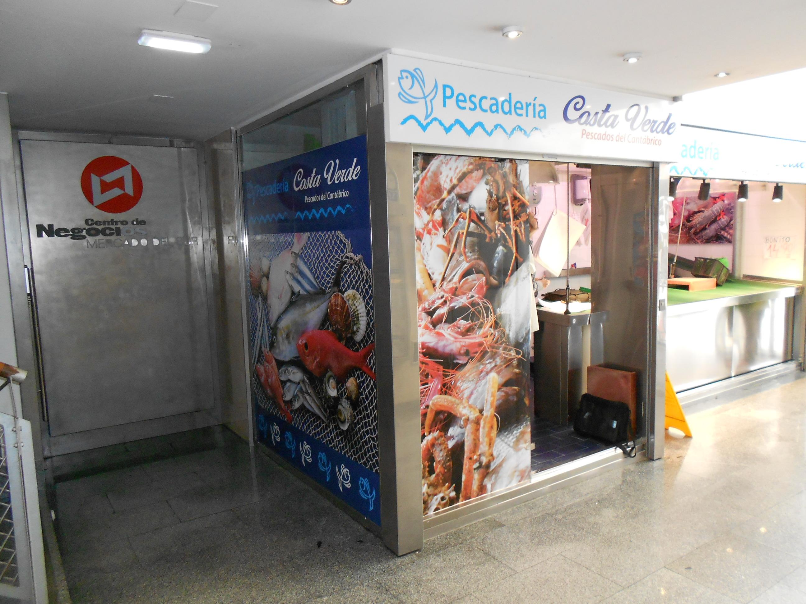 Proyecto de actividad para Pescadería, Gijón